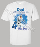 Olaf Dad Shirt