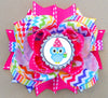Rainbow Stacked Boutique Hair Bow