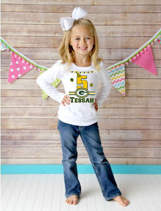 Green Bay Packers Birthday Shirt
