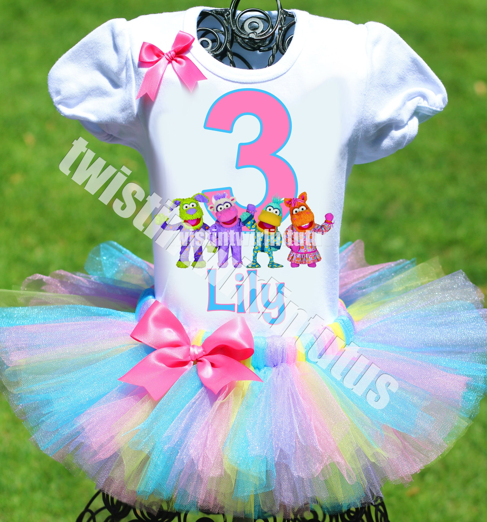 Pajanimals Birthday Tutu Outfit