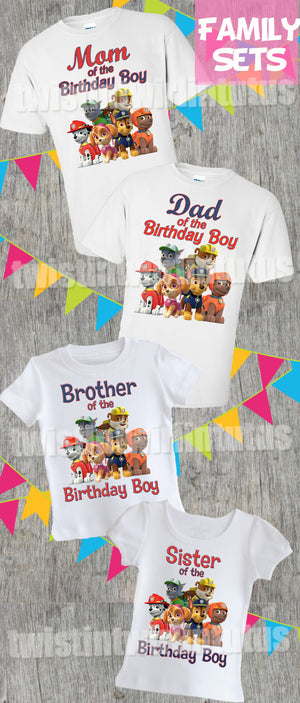 PAW PATROL #2 PERSONALISED CHILDS T-SHIRT