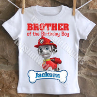 Paw Patrol Brother Shirt
