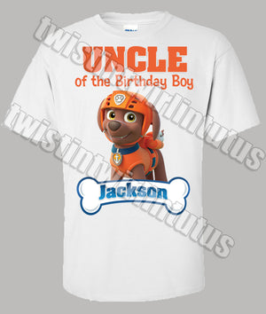 Paw Patrol Uncle Shirt