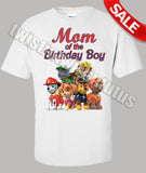 Paw Patrol Mom Birthday Shirt