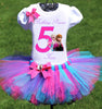 Frozen Birthday Tutu Outfit