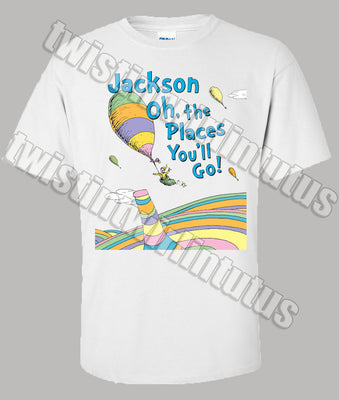 Dr. Seuss graduation shirt