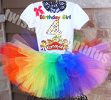 Play Doh Birthday Tutu Outfit