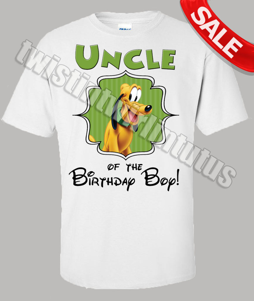 Mickey Mouse Clubhouse Uncle Shirt