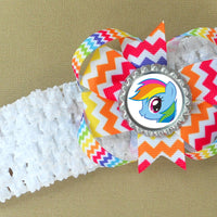 Rainbow Dash Headband