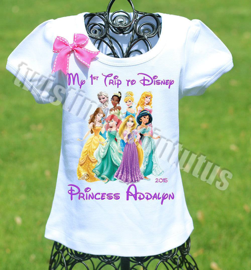 Disney World Princess Shirt