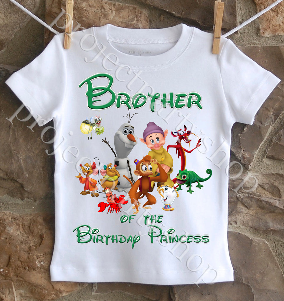 Disney Princess Brother Shirt