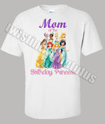 Disney Princesses Mom Shirt