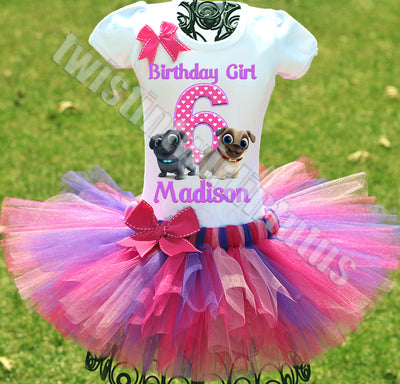 Puppy Dog Pals Birthday Tutu Outfit