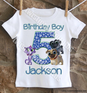 Puppy Dog Pals Birthday Shirt