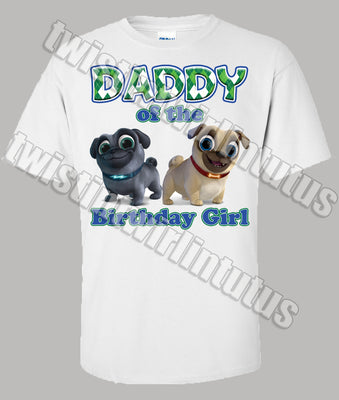 Puppy Dog Pals Daddy Shirt