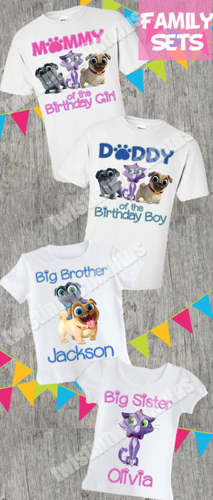 Puppy Dog Pals Family Shirts