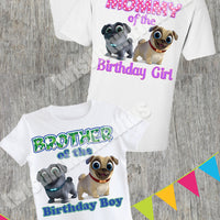 Puppy Dog Pals Family Birthday Shirts