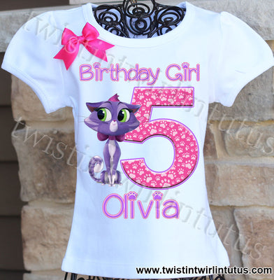 Puppy Dog Pals Hissy Birthday Shirt