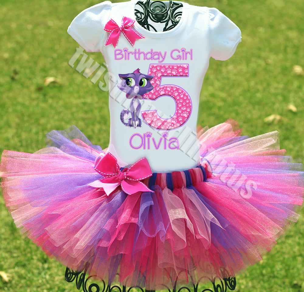 Puppy Dog Pals Hissy Birthday Outfit