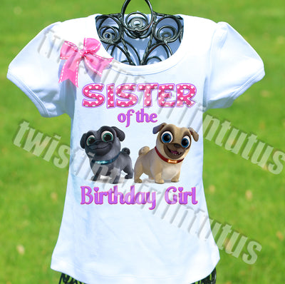 Puppy Dog Pals Sister Shirt