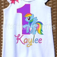 My Little Pony Birthday Romper