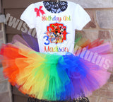 Mickey Mouse Clubhouse Birthday Tutu Outfit