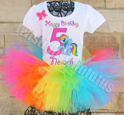 Rainbow Dash Birthday Outfit