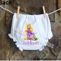 Disney Princess Rapunzel Bloomers Diaper Cover