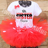 Minnie Mouse Big Sister Outfit