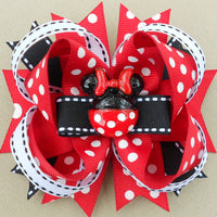Red Minnie Bow