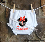 Minnie Mouse Bloomers Diaper Cover