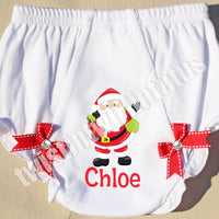 Christmas Bloomers Santa