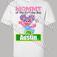 sesame street mom shirt
