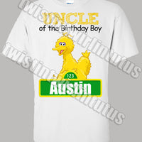 sesame street uncle shirt