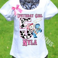 Sheriff Callie Birthday Shirt