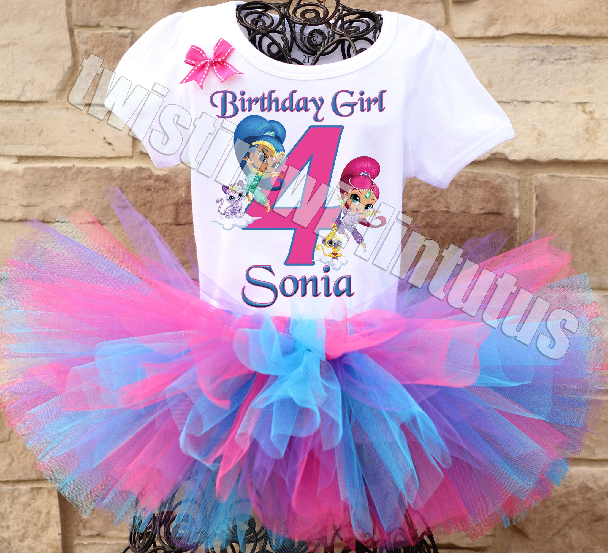 Shimmer and Shine Birthday Outfit