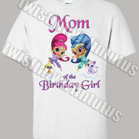 shimmer and shine mom shirt
