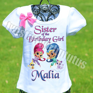 Shimmer and Shine Sister Shirt