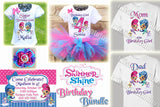 Shimmer and Shine Birthday Party Bundle
