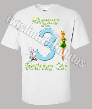 Tinkerbell Secret of the Wings Mom Shirt