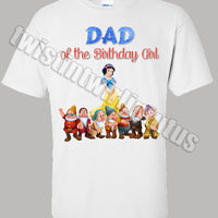Snow White Dad Shirt