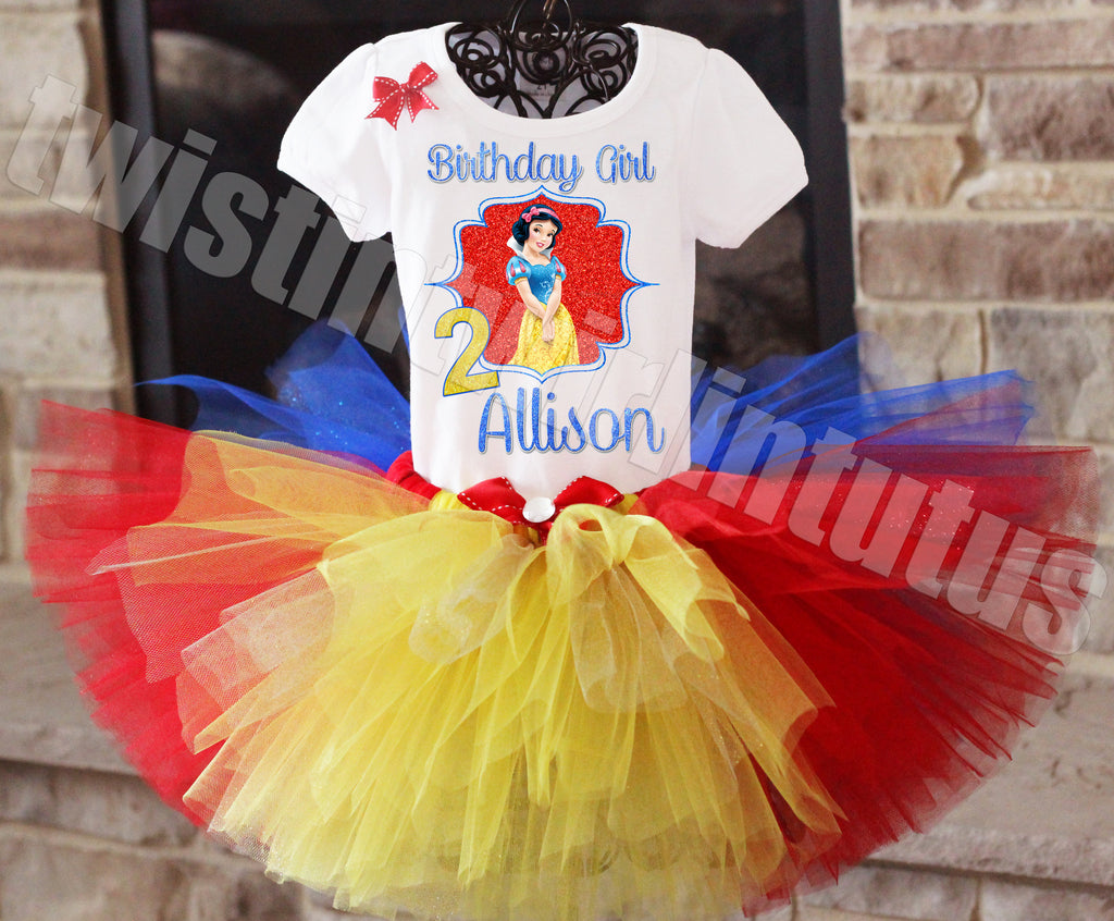 Snow White Birthday Outfit