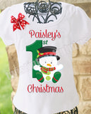 Girls First Christmas Shirt