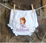 Disney Princess Sofia Bloomers Diaper Cover