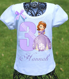 Sofia the First Birthday Shirt