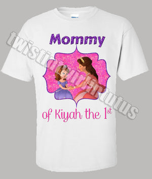 Sofia The First Mom Birthday Shirt