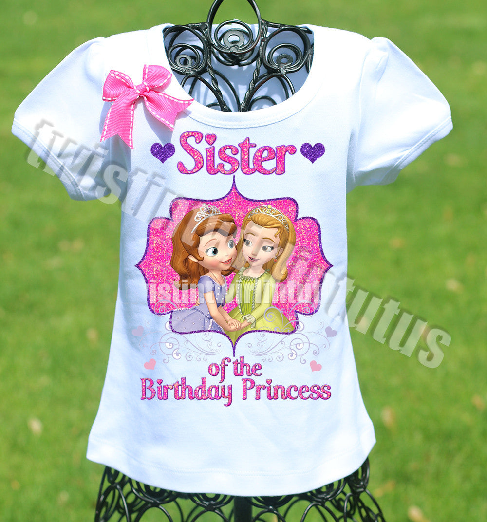 Princess Sofia Sister Shirt