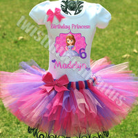 Princess Sofia Birthday Outfit