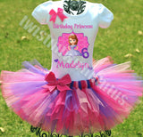 Sofia the First Birthday Tutu Outfit