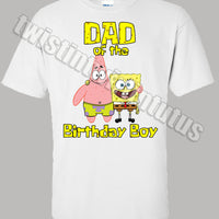 Spongebob Dad Shirt